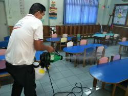 ทำความสะอาด สกัดโควิด-19